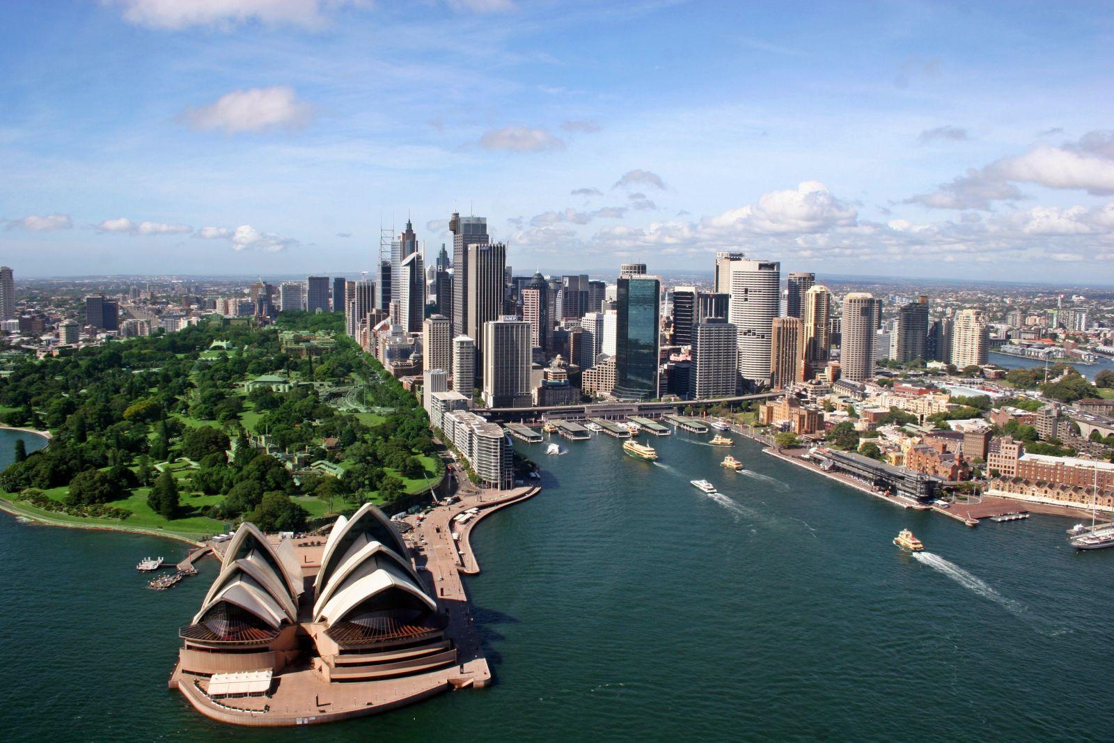 Thành phố Sydney úc
