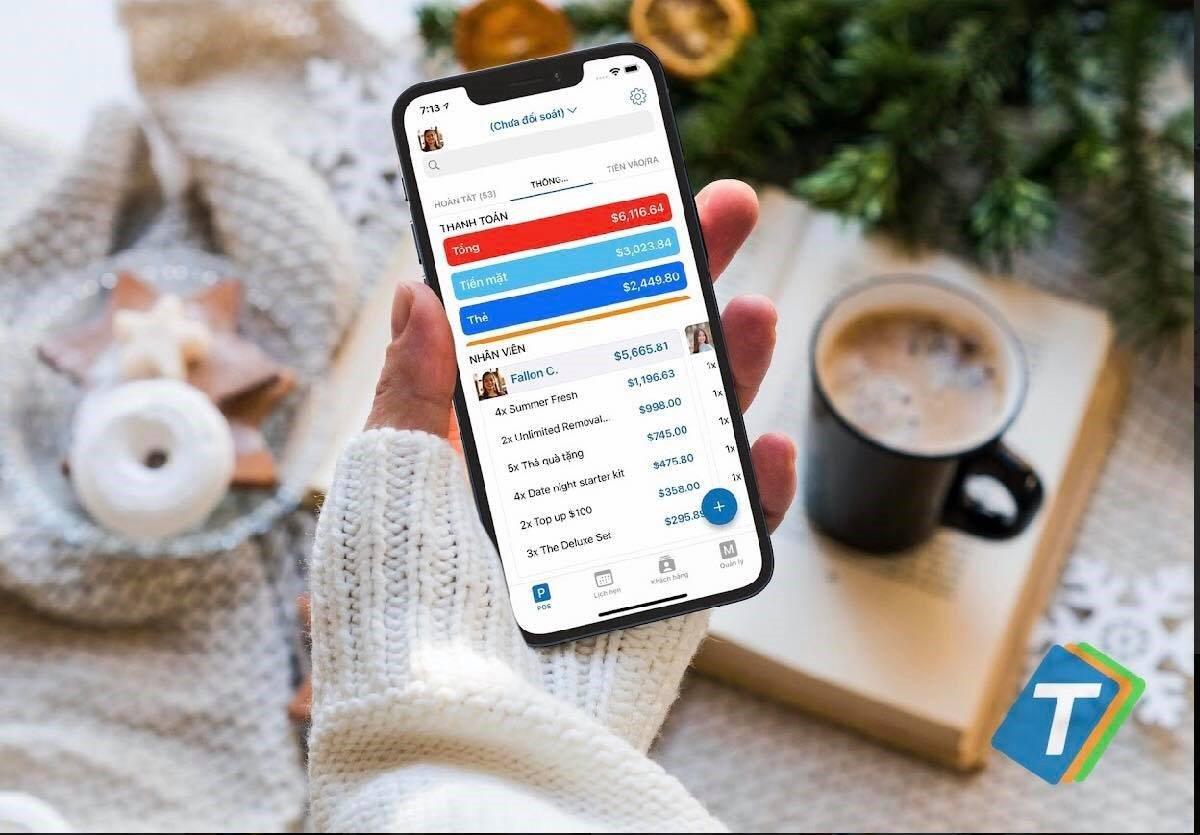 Thursday Pos Có những tính năng hiện đại giúp người chủ xem doanh thu bất cứ lúc nào